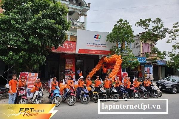 Chi nhánh công ty fpt huyện Tân Lạc