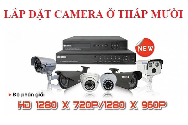 Lắp đặt camera huyện Tháp Mười