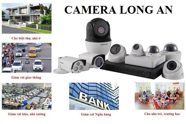 Các công trình lắp đặt camera quan sát ở Long An