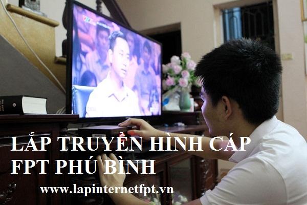 Lắp đặt truyền hình cáp Fpt Phú Bình