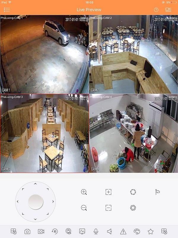 Các vị trí cần phải lắp đặt camera trong nhà hàng