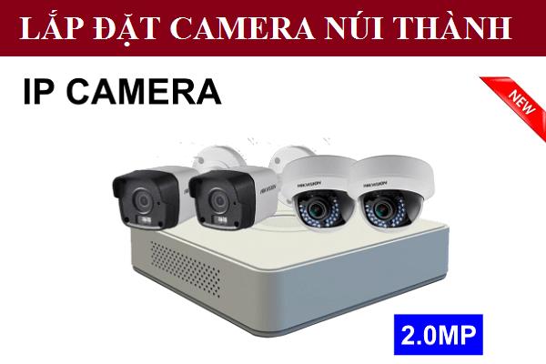 Lắp đặt camera Núi Thành