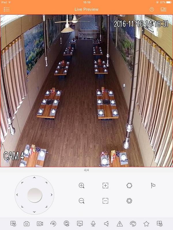 Lắp đặt camera giám sát cho quán ăn