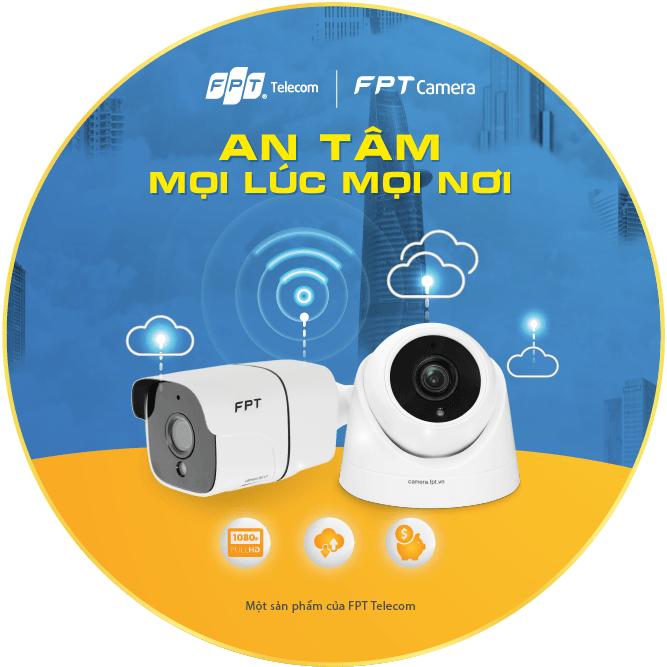 Camera WiFi Fpt loại trong nhà