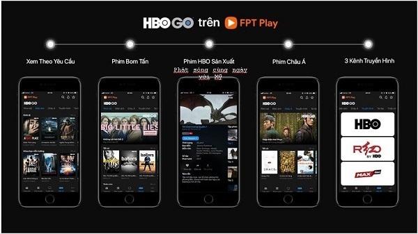 Gói kênh HBO Go hiện nay giá bao nhiêu tiền