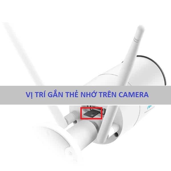 Vị trí thẻ nhớcamera wifihay camera không dây