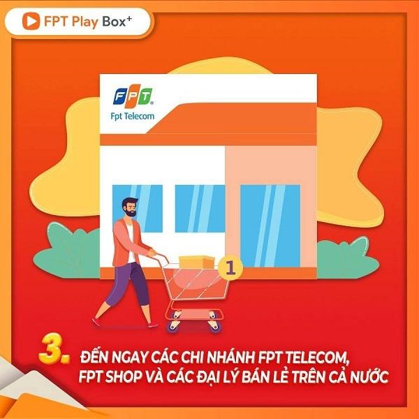 Đến cửa hàng Fpt shop và Fpt telecom trên toàn quốc