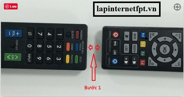 biến Remote Fpt thành remote TV đơn giản