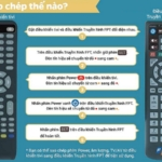 5 Bước để biến Remote Fpt thành remote TV đơn giản