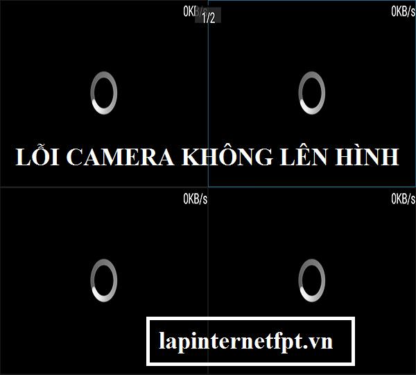 Cách khắc phục lỗi camera mất hình, tối đen
