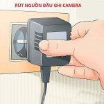 Camera Bị mất kết nối internet là lỗi gì ? Cách khắc phục