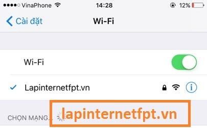 đổi tên mạng wifi cho modem G97RG3