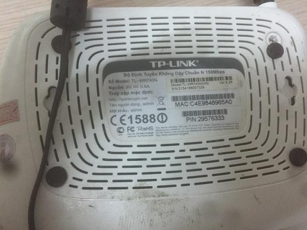 cấu hình modem TpLink TL-WR740N