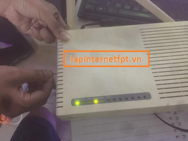 Reset modem VNPT về mặc định như thế nào