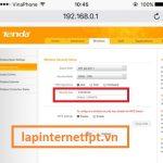 Cách đổi mật khẩu Router Wifi Tenda N300 trong 3 bước