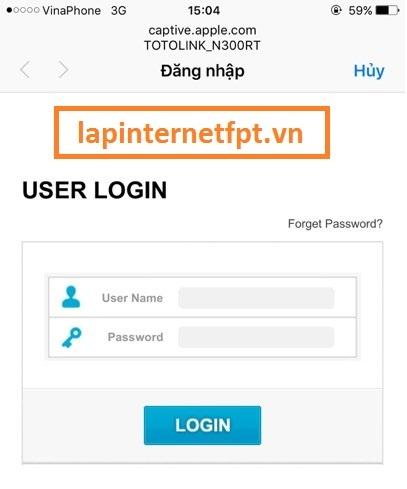 cấu hình router wifi Totolink N300RT