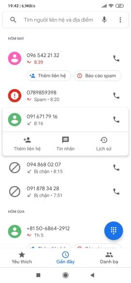 Cách chặn số điện thoại lạ trên các smart phone Android