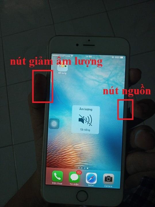 Cách chụp ảnh màn hình trên điện thoại Iphone / Android