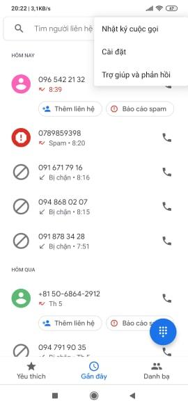 Chuyển hướng số điện thoại trên điện thoại Android