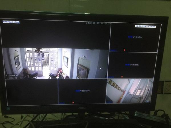 Cách thêm 1 camera IP vào đầu ghi Kbvision 4 kênh