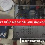 Hướng dẫn tắt tiếng kêu bíp bíp do lỗi không ổ cứng trên đầu ghi Kbvision