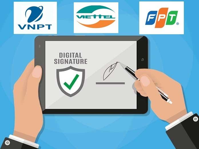 Báo Giá Chữ Ký Số VNPT - Viettel - Fpt
