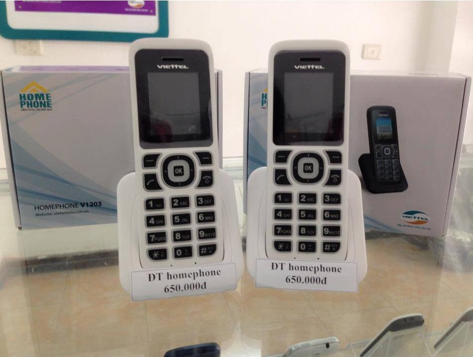 Điện thoại homephone Viettel V1206