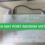 Hướng dẫn mở port trên modem Viettel F602W/ F606 / F608
