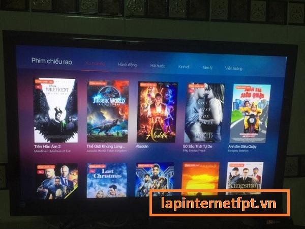 Cách xem các phim chiếu rạp mới nhất trên Fpt play box