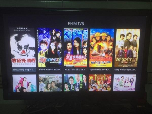 Hướng dẫn xem phim TVB phim Trung Quốc Hàn Quốc trên Fpt play box