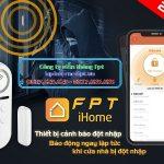 FPT iHome – Thiết bị cảm biến gắn cửa chống đột nhập
