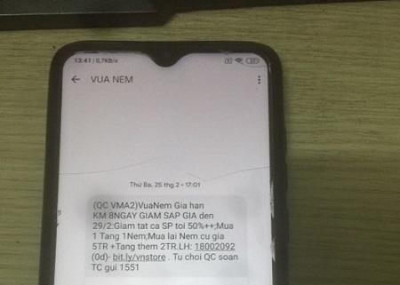 Cách chặn tin nhắn rác trên điện thoại trong 1 nốt nhạc