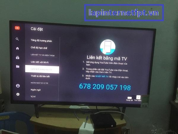 Điều khiển truyền hình Fpt qua Smart phone bằng Youtube Pair