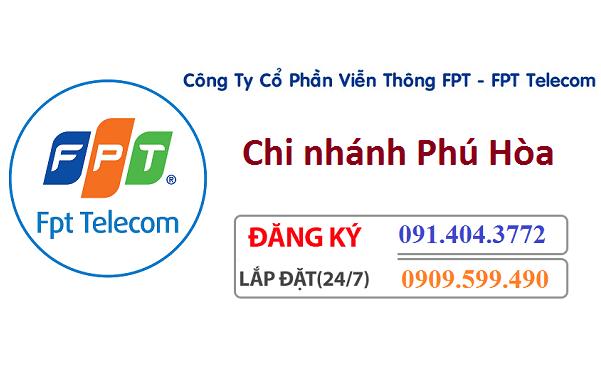 Lắp đặt internet Fpt huyện Phú Hòa
