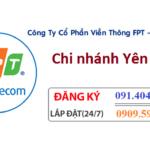Lắp Internet Fpt huyện Yên Mô