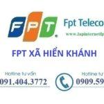 Lắp mạng Fpt xã Hiển Khánh ở tại Vụ Bản, Nam Định