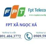 Lắp internet Fpt xã Ngọc Xá tại Quế Võ, Bắc Ninh