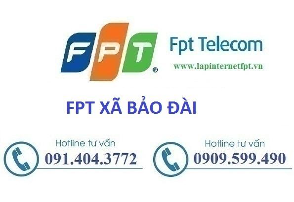 lắp mạng wifi fpt xã Bảo Đài