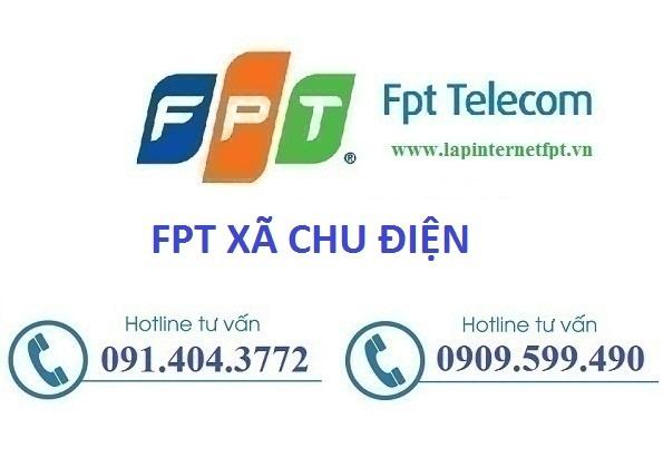 lắp internet fpt xã Chu Điện